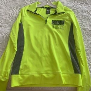 Neon green pullover